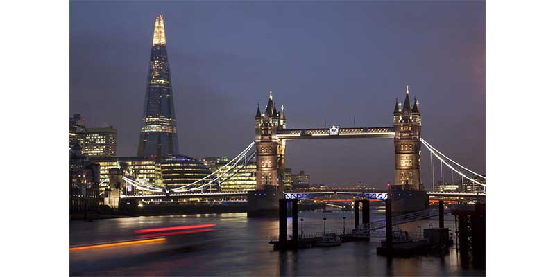 Holiday Destinations - The Shard London