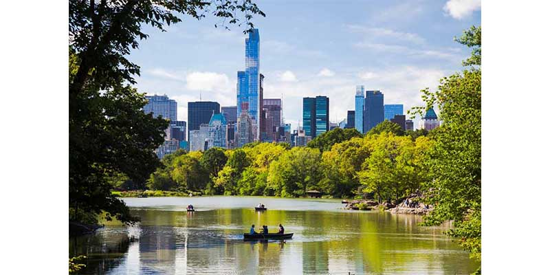 Holiday Destinations - New York, Central Park