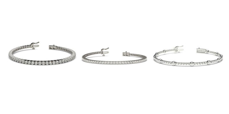 Diamond Tennis Bracelets - Ready To Deliver