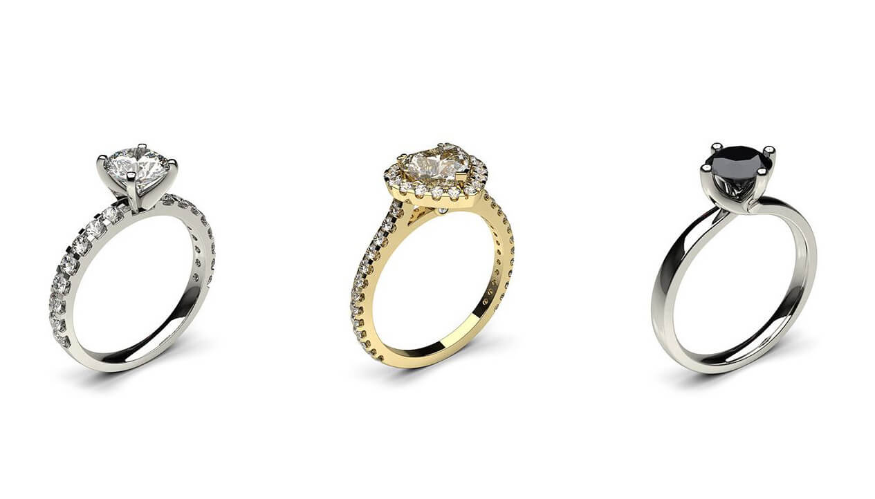 Which Order Do You Wear Engagement Wedding And Eternity Rings