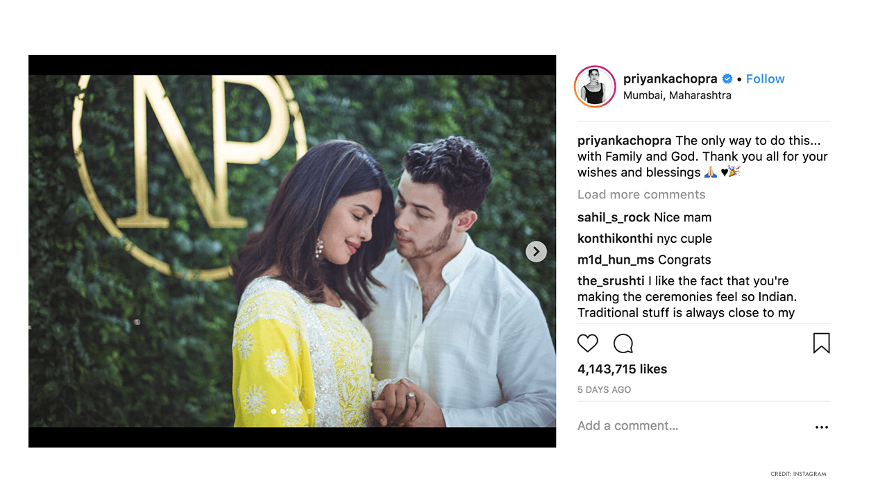 Priyanka Chopra - Nick Jonas - Engagement