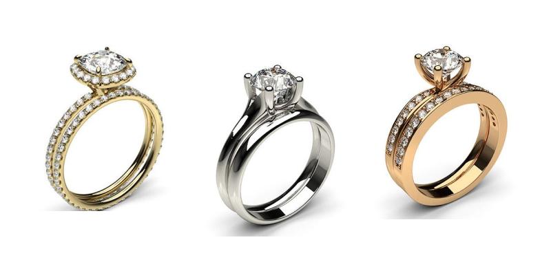 bridal ring sets