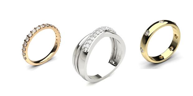 diamond wedding rings