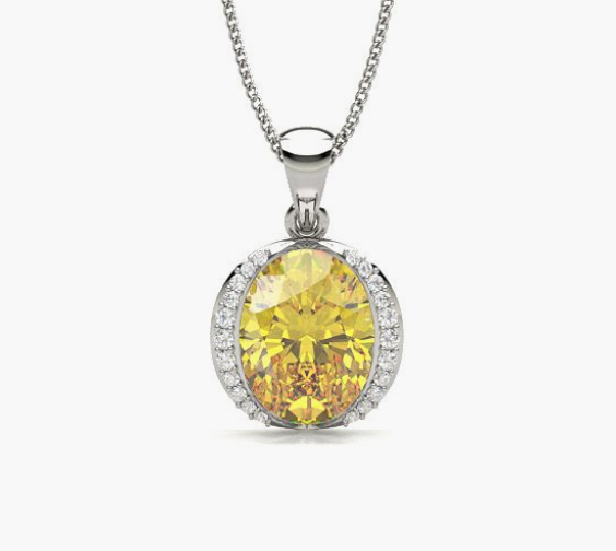 Yellow Diamond Pendants