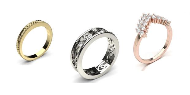 ornate wedding rings