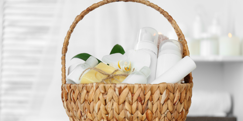 Spa Pamper Basket - Bridesmaid Present