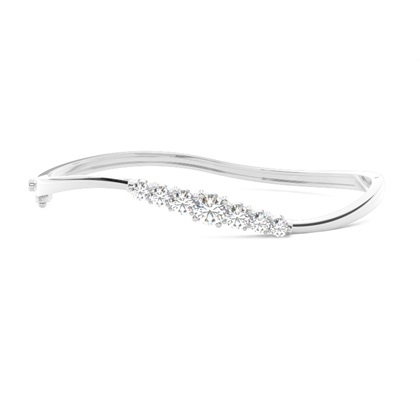 4 Prong Setting Diamond Bracelets