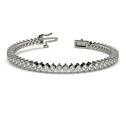 Prong Set Tennis Bracelet