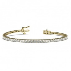 Yellow Gold Diamond Bracelets