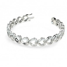 Bracelets Diamant or Blanc