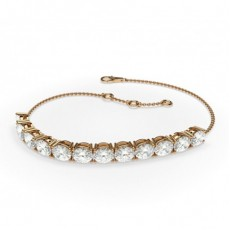 Rose Gold Diamond Bracelets