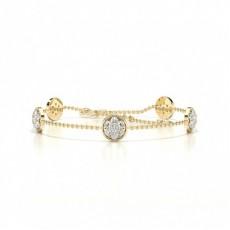 Yellow Gold Delicate Bracelet