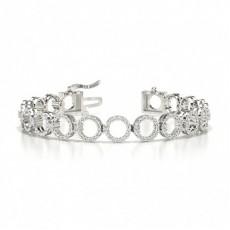 Bracelets en Diamant Platine