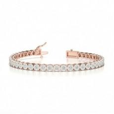 Round Tennis Bracelet