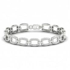 Platinum Diamond Tennis Bracelets