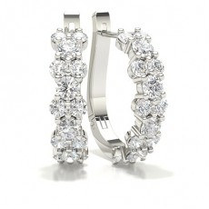 Hoops Diamond Earrings
