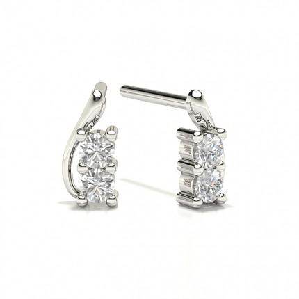 Diamond Stud Designer Earrings
