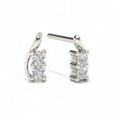 Diamond Stud Designer Earrings