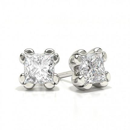 Diamond Classic Prong Stud Earrings