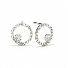 Stud Designer Diamond Earrings
