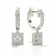 Princess Silver Designer Earrings