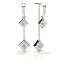 Princesse Designer Diamond Earrings