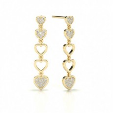 Dangle Designer Stud Earring