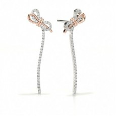 Designer Stud Diamond Earrings