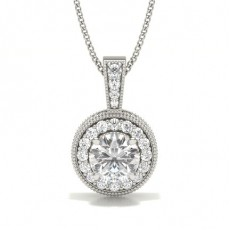White Gold Diamond Pendants