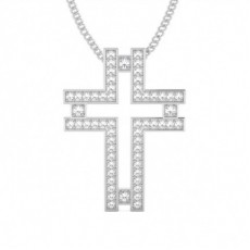 Platinum Cross Pendants