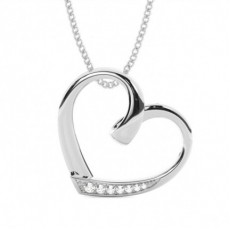 Round Heart Pendants