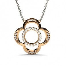 Rose Gold Designer Pendants