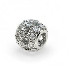 Round Platinum Charms Bracelets