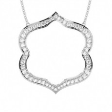Delicate Diamond Pendants