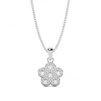 4 Prong Setting Classic Solitaire Pendant