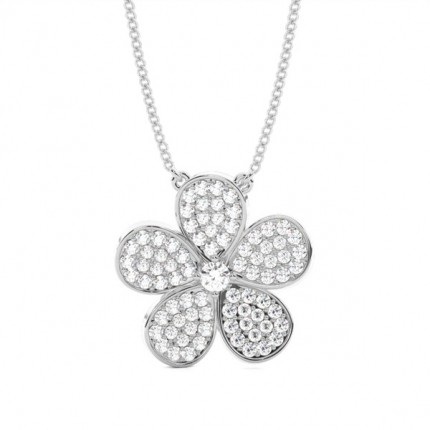 3 Prong Setting Classic Solitaire Pendant