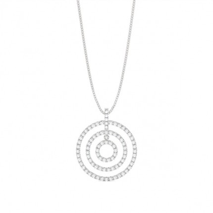 Buy prong setting round diamond circle pendant online uk diamonds prong setting diamond circle pendant mozeypictures Image collections