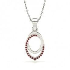 Gemstone Diamond Pendants