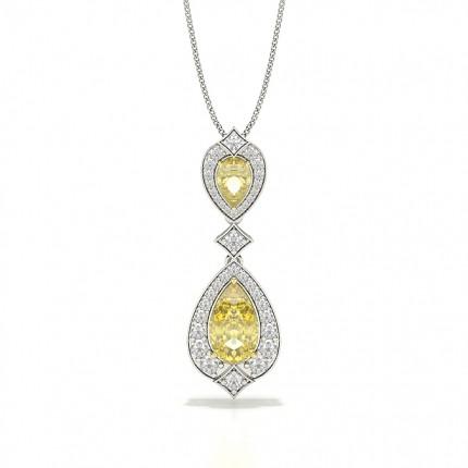 Yellow Diamond Designer Pendant