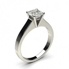 Asscher   Solitaire Engagement Rings