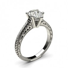 Pear  Vintage Engagement Rings