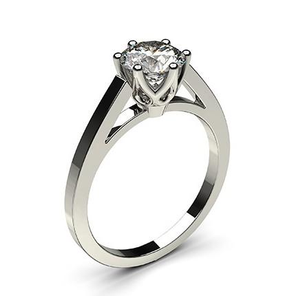 schwarzer diamant verlobungsring d nn in einer 6er krappenfassung diamonds factory. Black Bedroom Furniture Sets. Home Design Ideas