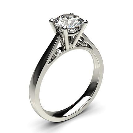 4 Prong Setting Medium Engagement Ring