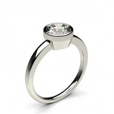 Marquise Platinum  Solitaire Diamond Engagement Rings