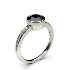 Full Bezel Setting Engagement Rings