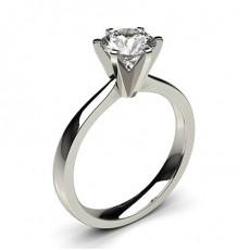 6 Prong Setting Medium Engagement Ring