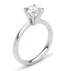 Classic Solitaire Diamond Engagement Rings