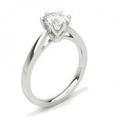 6 Prong Setting Diamond Engagement Rings