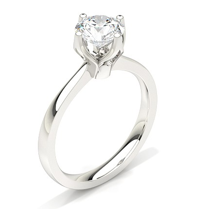 white shank engagement ring w jewellery diamond rings split qrtr gold square three halo