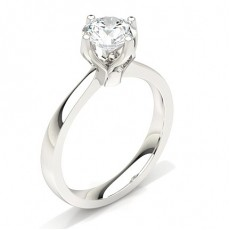 4 Prong Setting Large Engagement Ring